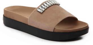 Karl Lagerfeld Paris Kay Platform Slide Sandal - Women's