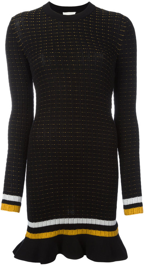 3.1 Phillip Lim 3.1 Phillip Lim knitted mini dress