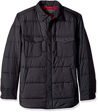 Pendleton Men's Long Sleeve Lightweight Quilted Shirt Jacket