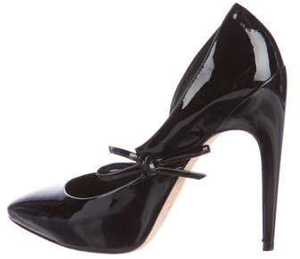 Christian Dior Pointed-Toe d'Orsay Pumps