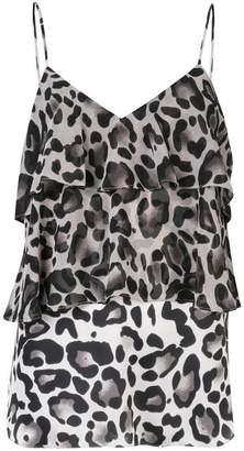 Goen.J leopard print camisole