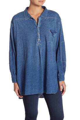 Free People Love This Hi-Lo Henley