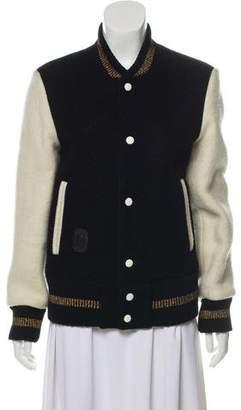Marc Jacobs Wool Bomber Jacket