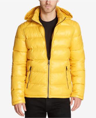 GUESS Men Hooded Puffer Coat
