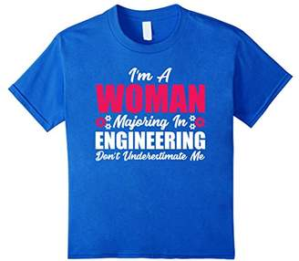 I'm A Woman Majoring In Engineering T-shirt