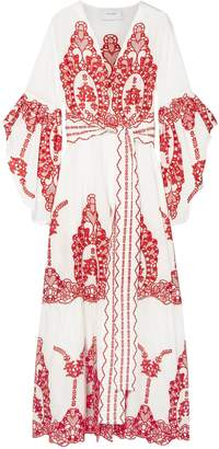 Leone We Are Broderie Anglaise Cotton Robe