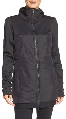 Women's The North Face Lauritz Hybrid Jacket $149 thestylecure.com