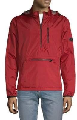 Calvin Klein Packable Half-Zip Windbreaker Jacket
