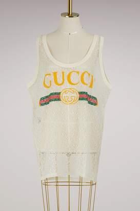 Gucci Logo tank top