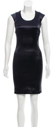 Dolce & Gabbana Scoop neck Satin Dress