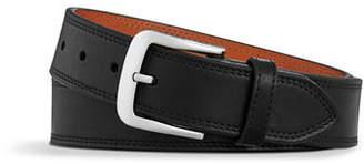 Shinola Essex Double Stitch Leather Belt $125 thestylecure.com