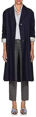 Prada Women's Mohair-Wool Belted Coat