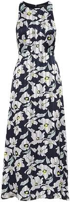 Banana Republic Floral Fit-and-Flare Maxi Dress