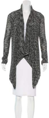 Alice + Olivia Open-Front Asymmetrical Cardigan