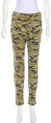 Rich & Skinny Camo Mid-Rise Skinny Pants w/ Tags