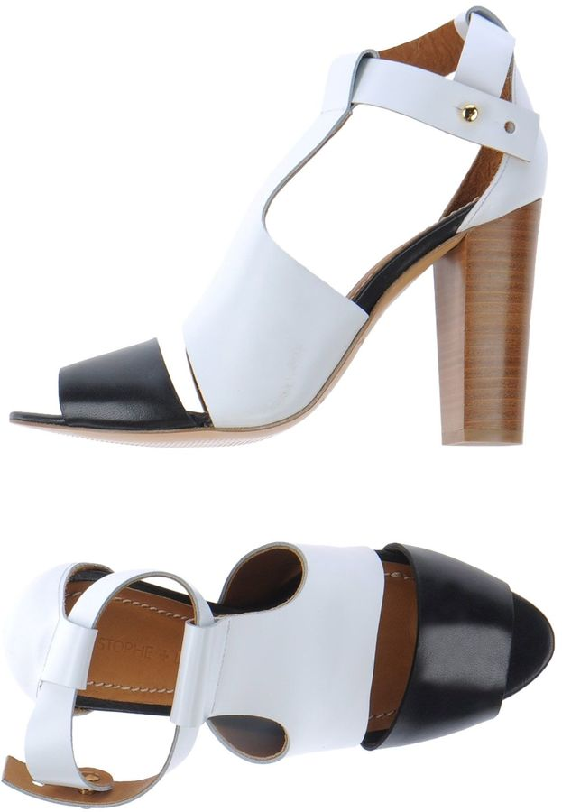 LEMAIRE High-heeled sandals
