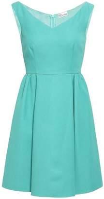 RED Valentino Cotton-blend Crepe Mini Dress