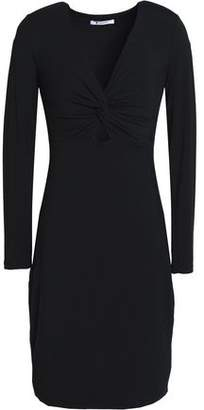 Alexander Wang Cutout Twisted Stretch-Modal Jersey Mini Dress