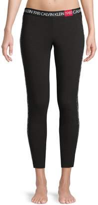 Calvin Klein Underwear 1981 Bold Lounge Cotton Blend Leggings