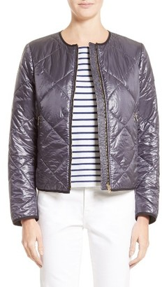 Women's Burberry Dovecote Quilted Tech Jacket $595 thestylecure.com
