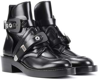 Balenciaga Ceinture leather ankle boots