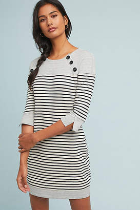 Three Dots Cassie Striped Petite Dress