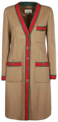 Gucci Web Trim Cardi-coat
