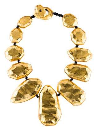 Viktoria Hayman Resin Stardust Collar Necklace