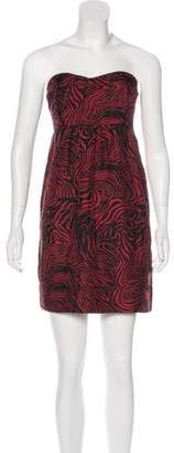 Sunner Printed Silk Dress