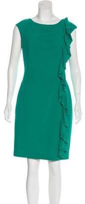 Calvin Klein Scoop Neck Knee-Length Dress
