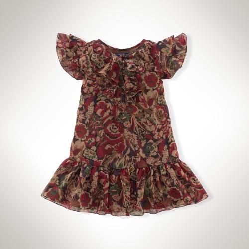 Little Floral Chiffon Dress