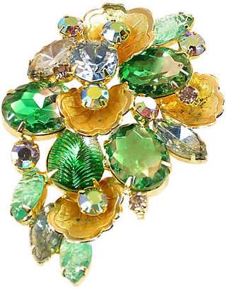 One Kings Lane Vintage Juliana Fancy Crystal Brooch