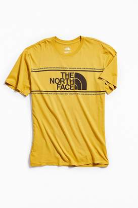The North Face Well Lived Logo Stripe Tee