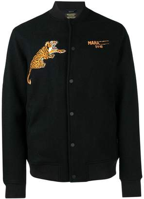 MHI logo tiger embroidered jacket