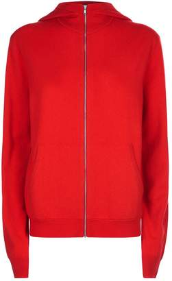 Helmut Lang Cashmere Zipped Hoodie