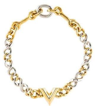 Louis Vuitton Link Collar Necklace
