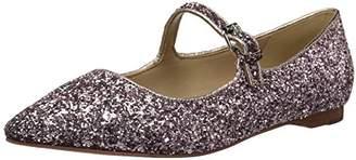 The Fix Women's Estrella Mary Jane Glitter Ballet Pointed Toe Flat