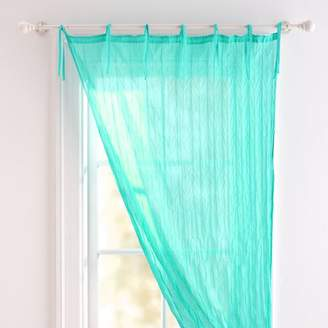 Pottery Barn Teen Twisted Sheer, 40&quotx63&quot, Pool