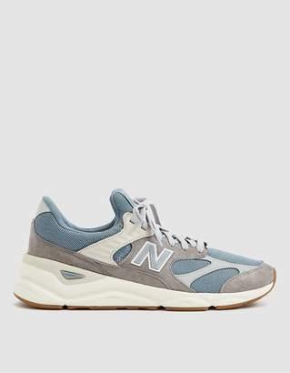 New Balance X90 Sneaker in Cyclone/Marblehead