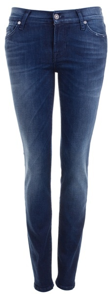 7 FOR ALL MANKIND - Dark blue skinny jean