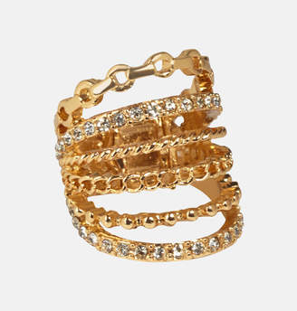 Avenue Diamond Chain Space Ring