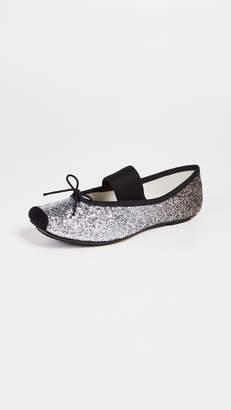 Repetto Catherine Glitter Ballerina Flats