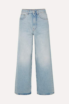 Totême Flair High-rise Wide-leg Jeans - Light denim