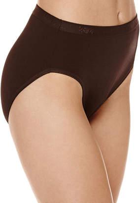 Underscore Cotton Rib Knit High Cut Panty