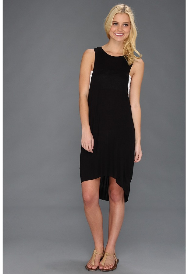 Obey Outlaw Dress (Black) - Apparel