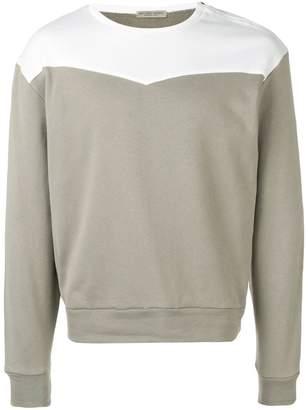 Bottega Veneta colour block sweatshirt