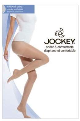 Jockey Day Sheer Reinforced Panty 20 D Sandalfoot