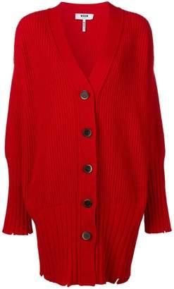 MSGM oversized cardi-coat