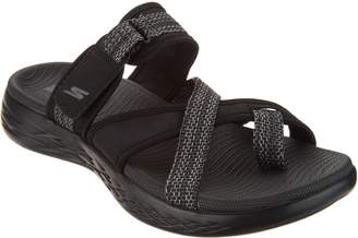 Skechers On-The-GO Toe Loop Sport Sandals - Glow