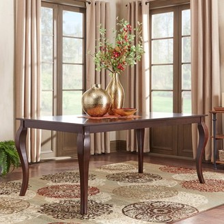 """Weston Home Abram 72"""" Dining Table, Cabriole Table Leg"""